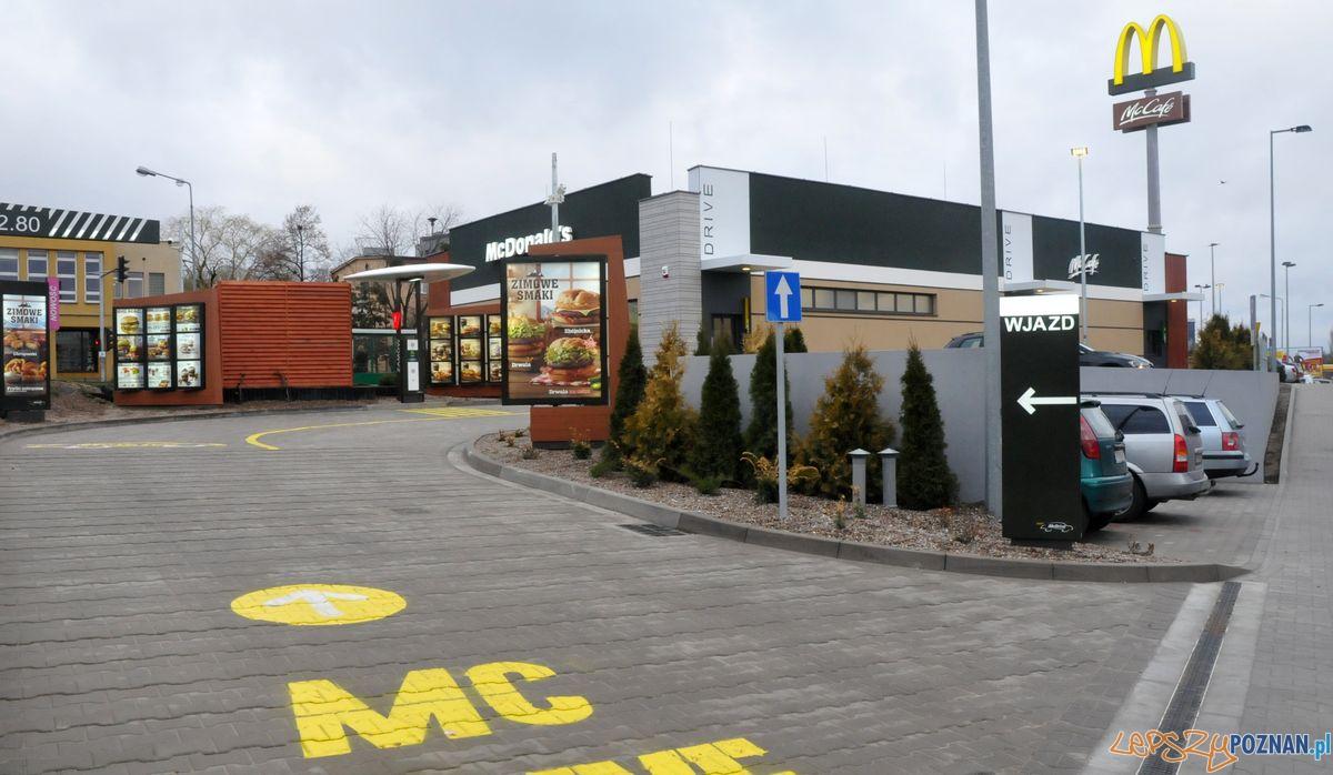Pierwszy McDonald's w Luboniu  Foto: materiały prasowe