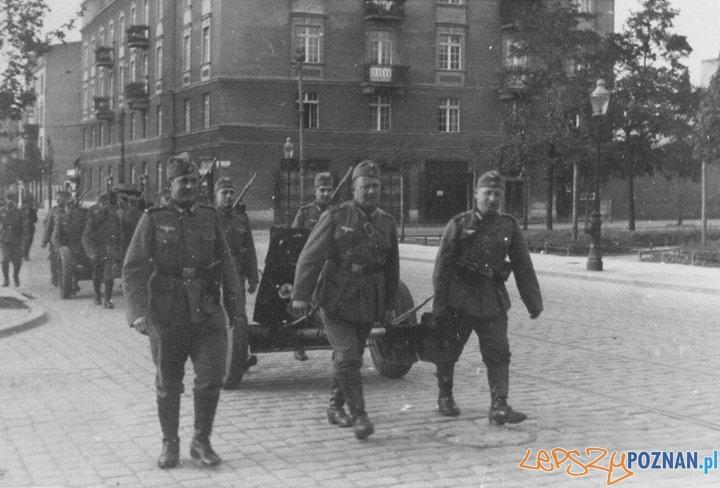 Niemieccy zołnierze na Garbarach  Foto: