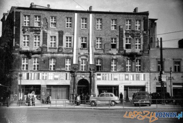 Bazar 1945 r.  Foto: Archiwum MTP