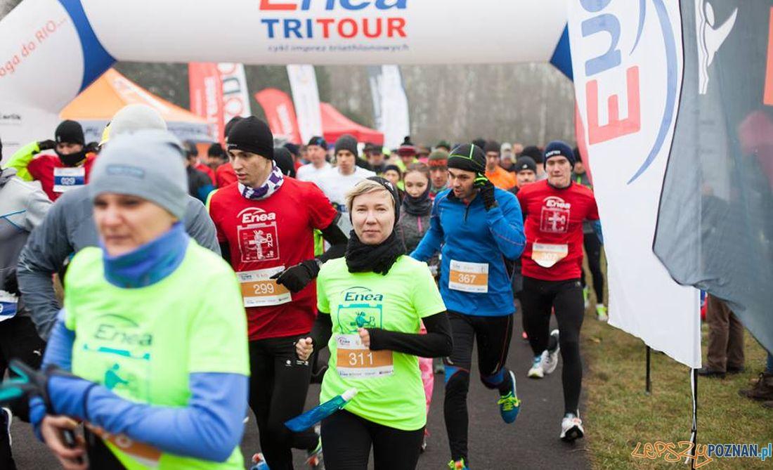 Tri Tour - zimowe bieganie na Cytadeli  Foto: endu sport
