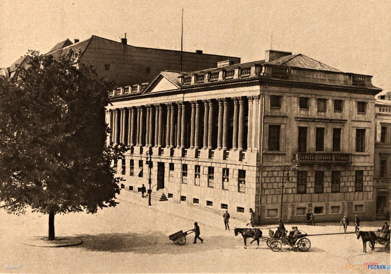 Biblioteka Raczynskich 1900-05  Foto: fotopolska