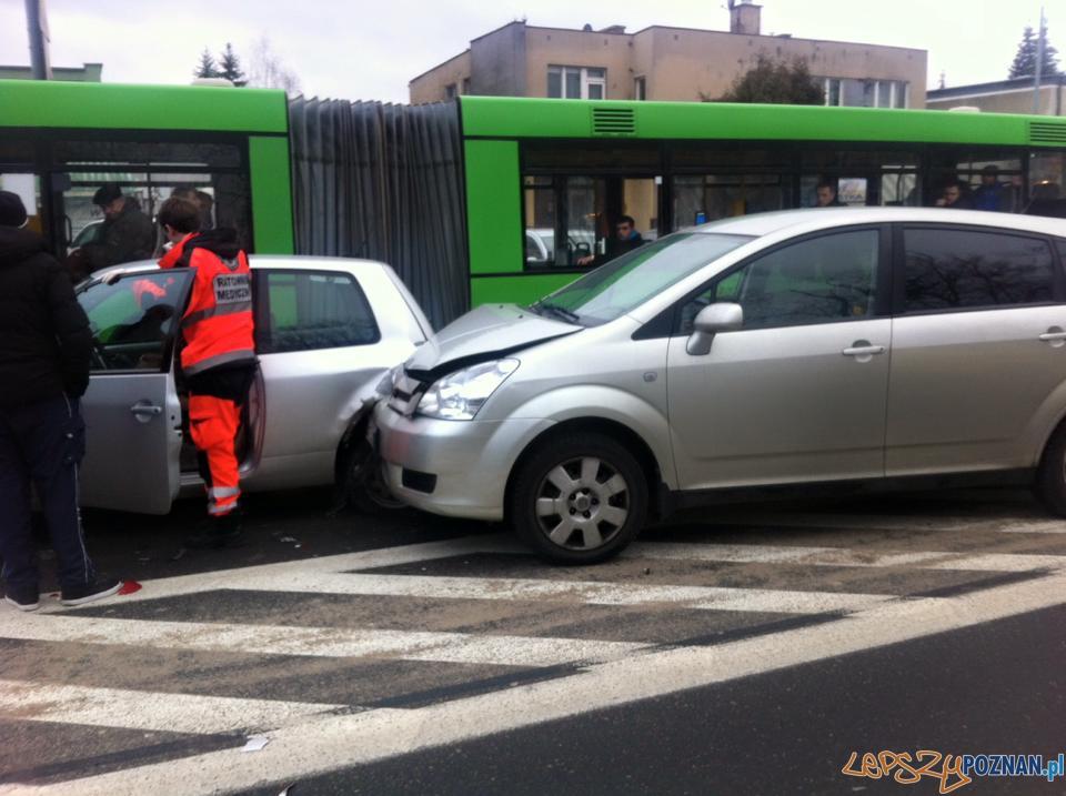 Wypadek ul.Dąbrowskiego/Szpitalna.  Foto: EuroHol