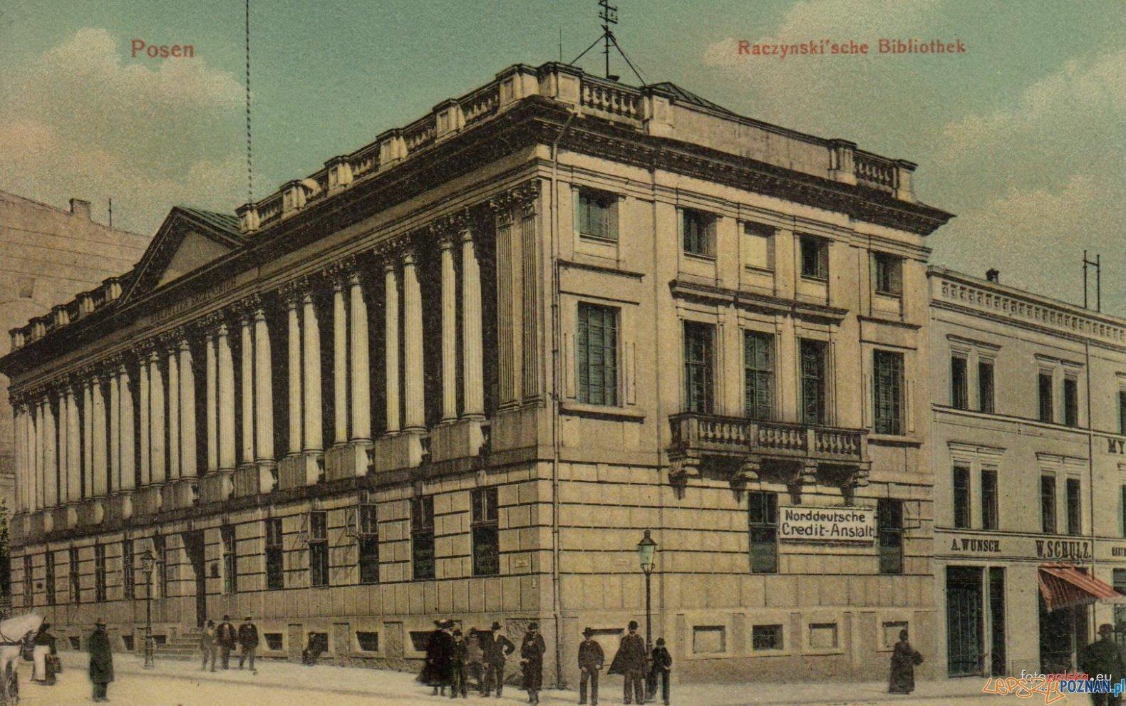 Biblioteka Raczynskich 1912  Foto: fotopolska