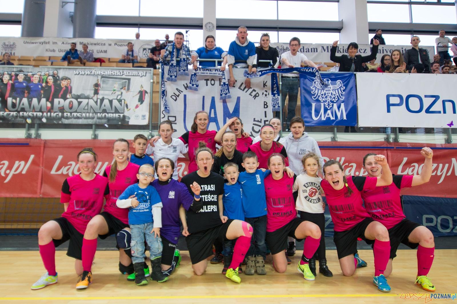 Finał Ekstraklasy: AZS UAM Poznań – UJ Kraków