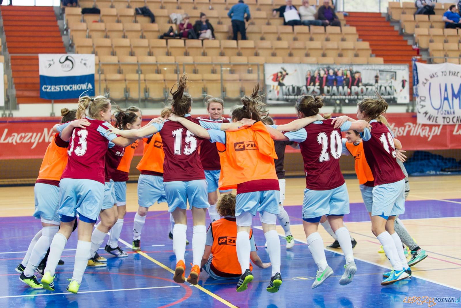Finał Ekstraklasy: AZS Strelec Głogówek - Gol Częstochowa  Foto: lepszyPOZNAN.pl / Piotr Rychter
