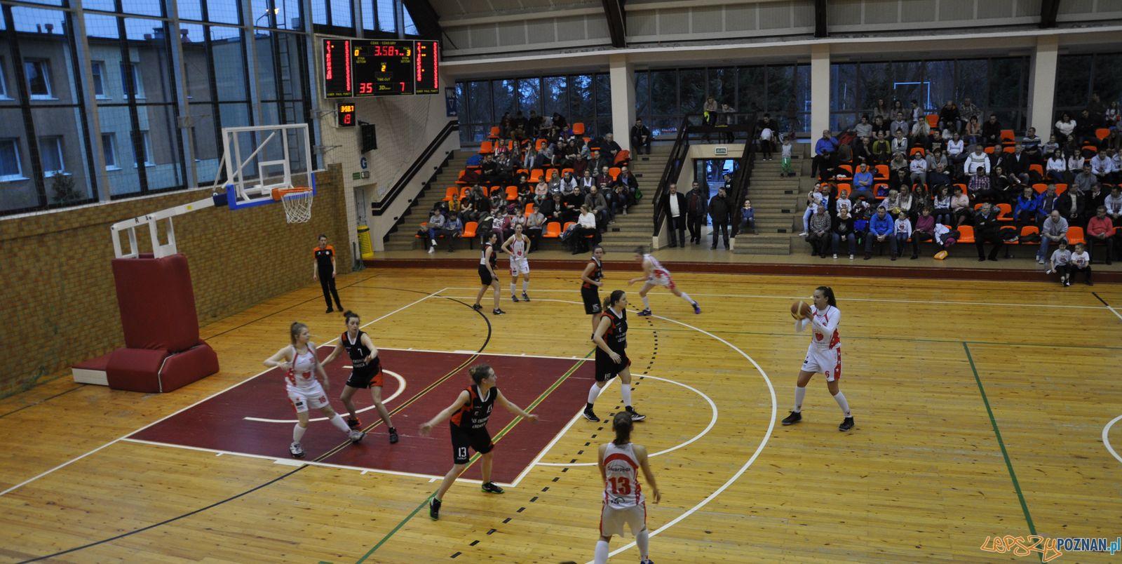 Mecz koszykarek Lidera Swarzędz  Foto: Marcin Madanowski