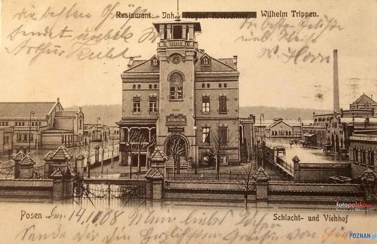 Rzeznia 1908 r  Foto: fotopolska