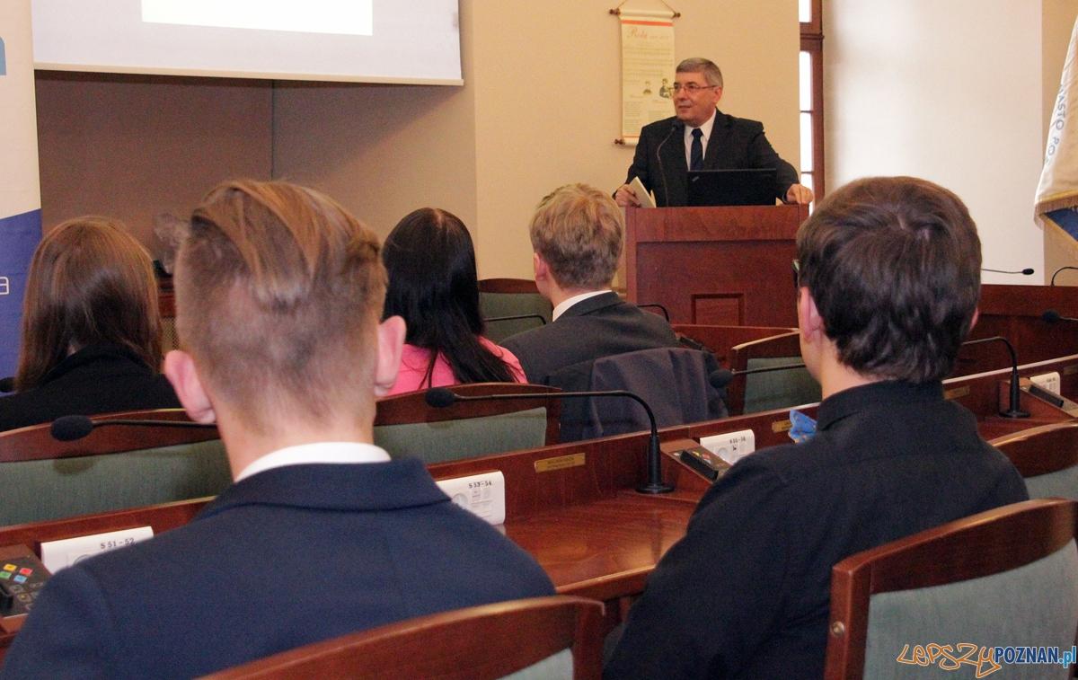 Młodzoeżowa Rada Miasta Poznania  Foto: UMP