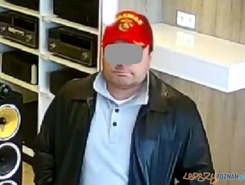 podejrzany zgłosił się na Policję  Foto: KWP w Poznaniu