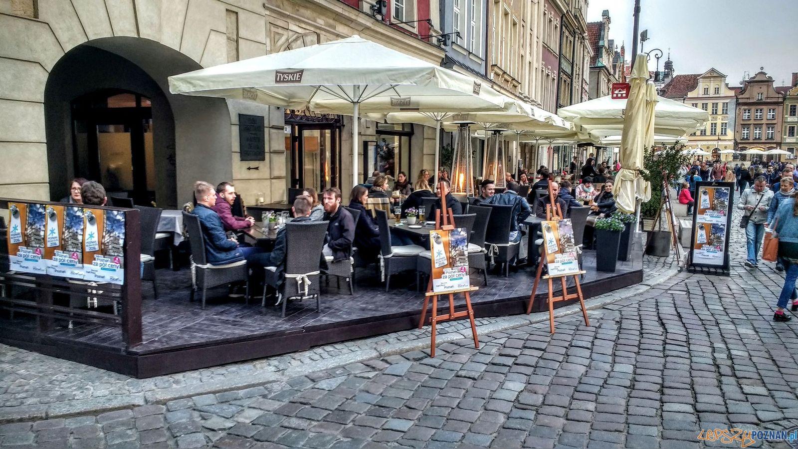 Stary Rynek - restauracje - Poznań za pół ceny  Foto: Wojciech Mania / PLOT