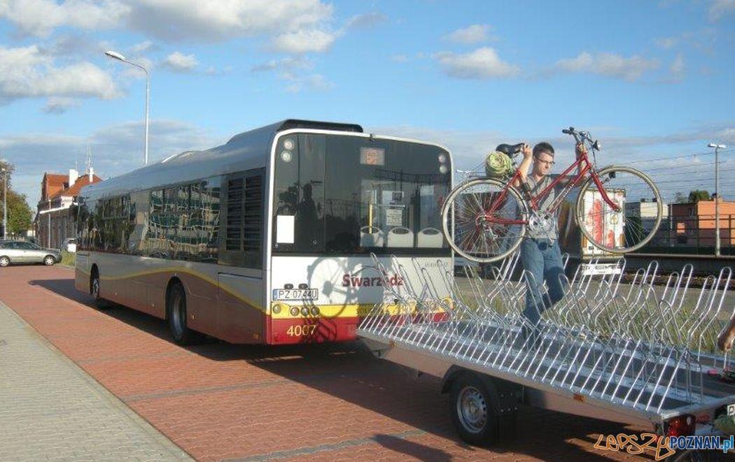 Rowerowy szlak autobusowy  Foto: Powiat Poznański