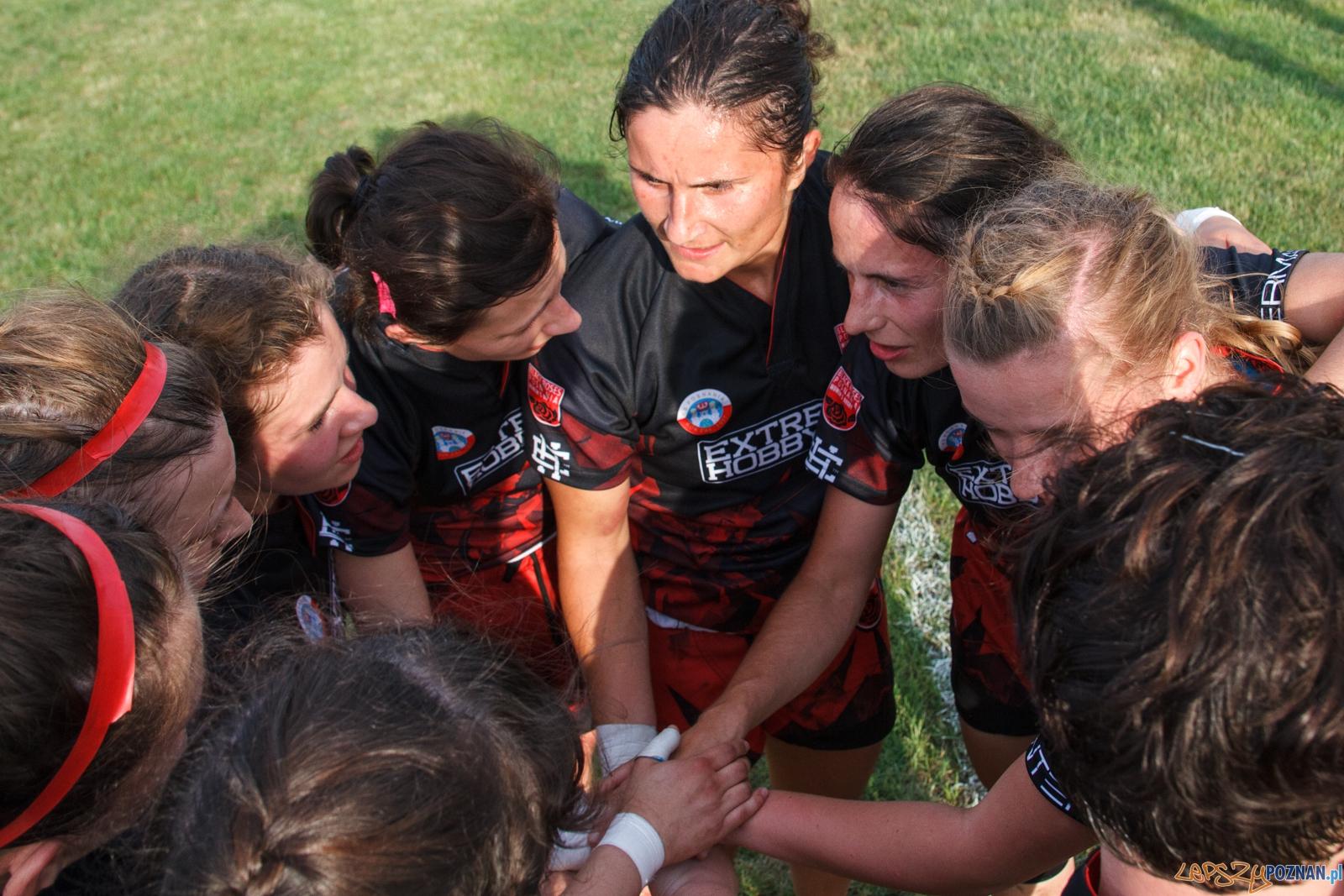 Turniej Mistrzostw Polski Kobiet w Rugby 7 - Poznań 04.06.2016  Foto: LepszyPOZNAN.pl / Paweł Rychter