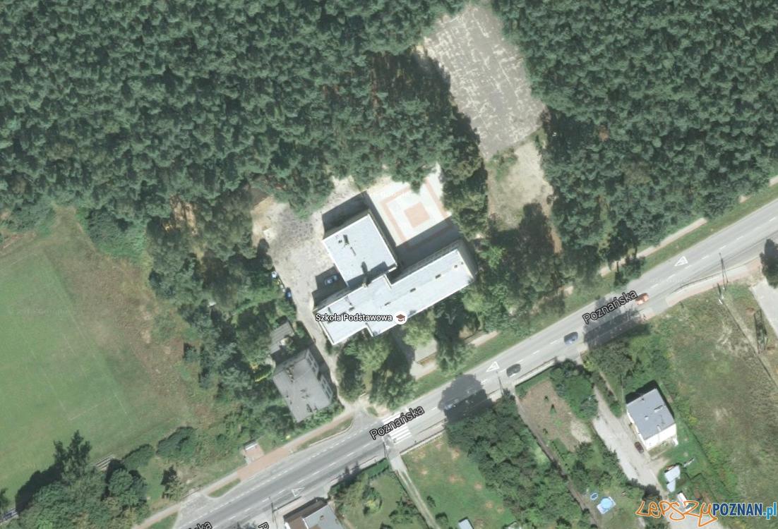 Szkoła w Kobylnicy urośnie  Foto: Google Maps