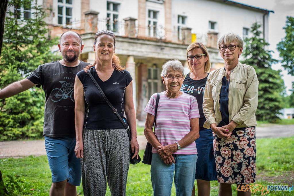 Wizyta starszej pani w Murowanej Goslinie (2)  Foto: © Kamil Grzebyta / UMIG Murowana Goślina