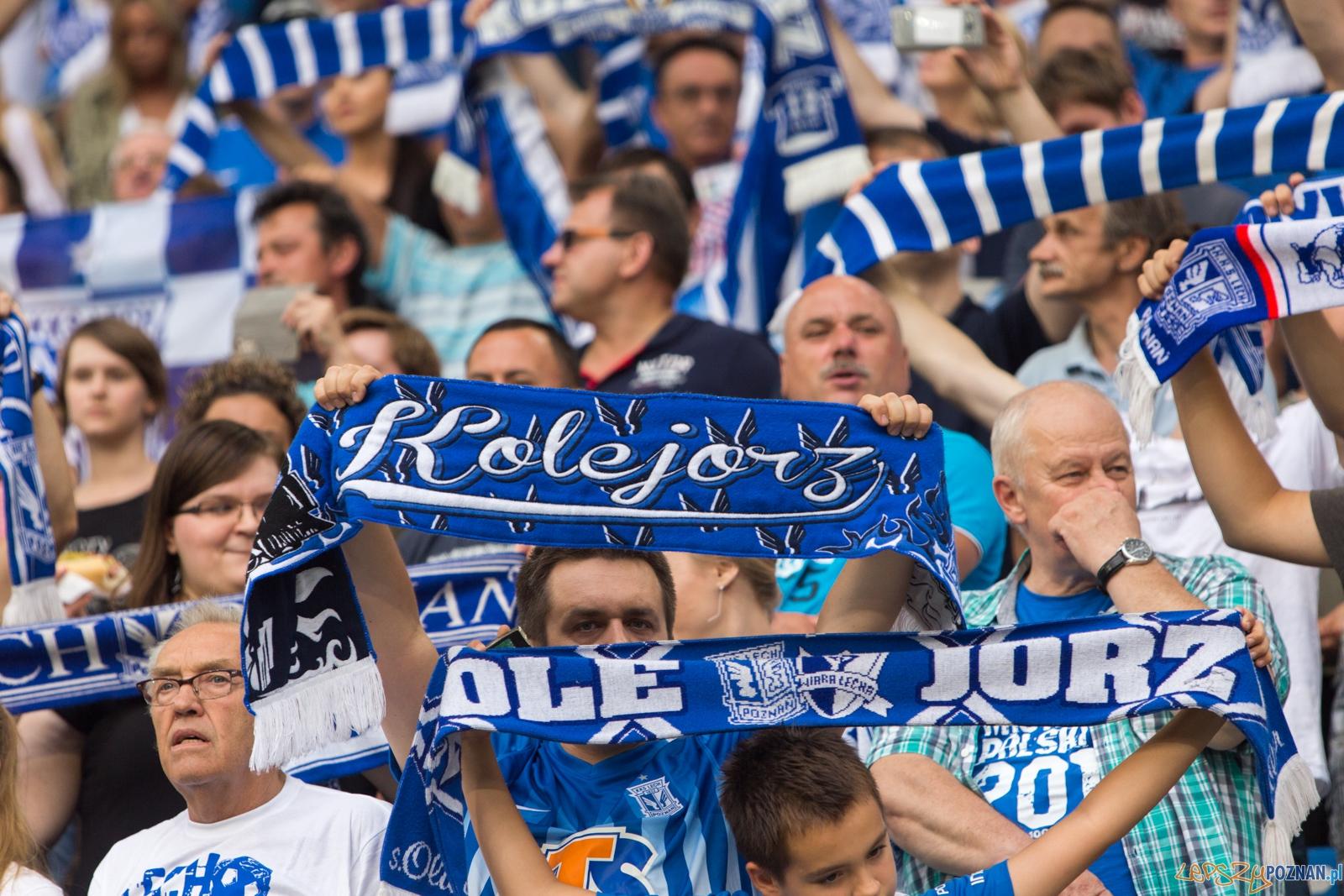 2. kolejka Ekstraklasy - Lech Poznań - Zagłębie Lubin  Foto: lepszyPOZNAN.pl / Piotr Rychter