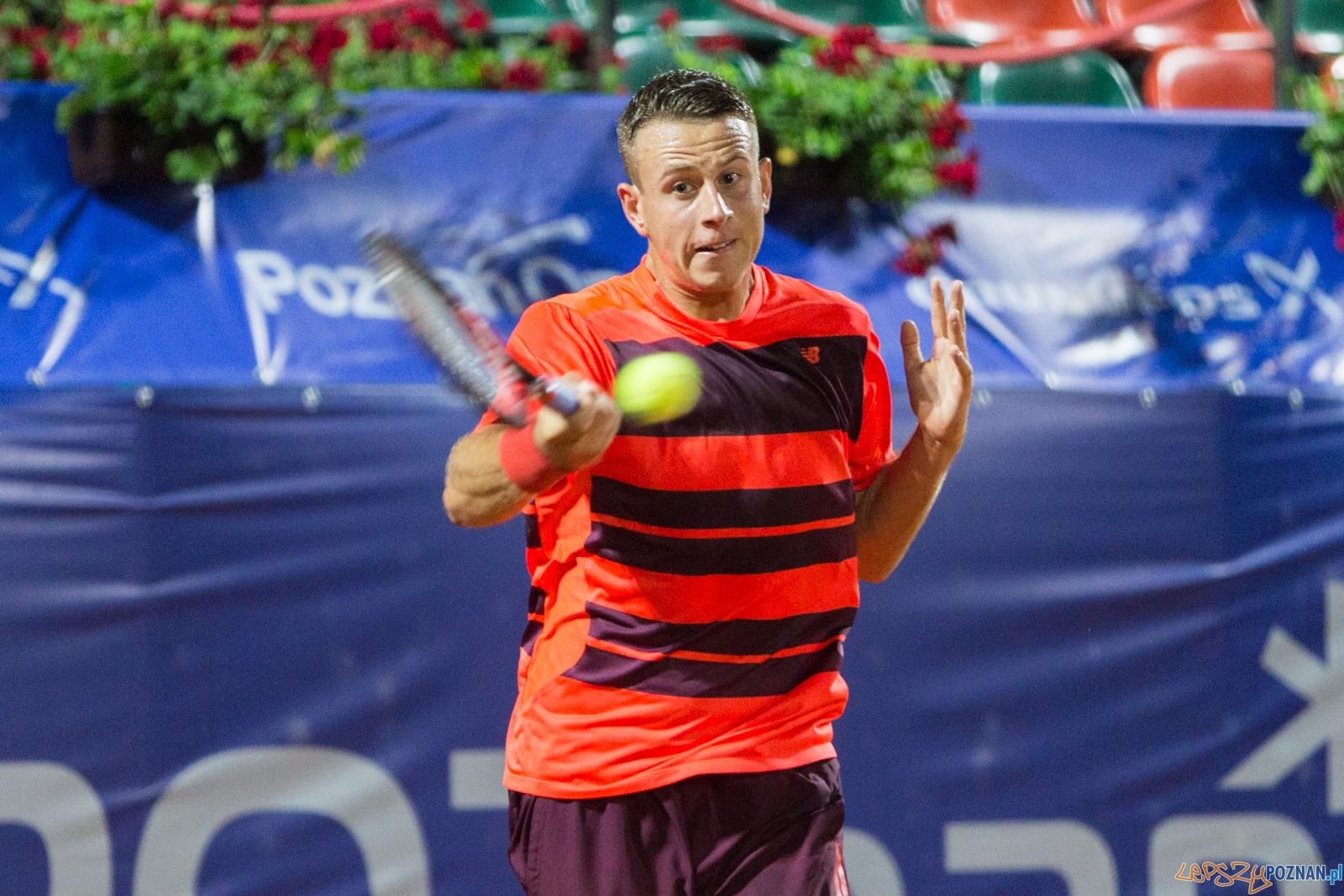 Poznań Open 2016: Radu Albot vs Michał Dembek  Foto: lepszyPOZNAN.pl / Piotr Rychter