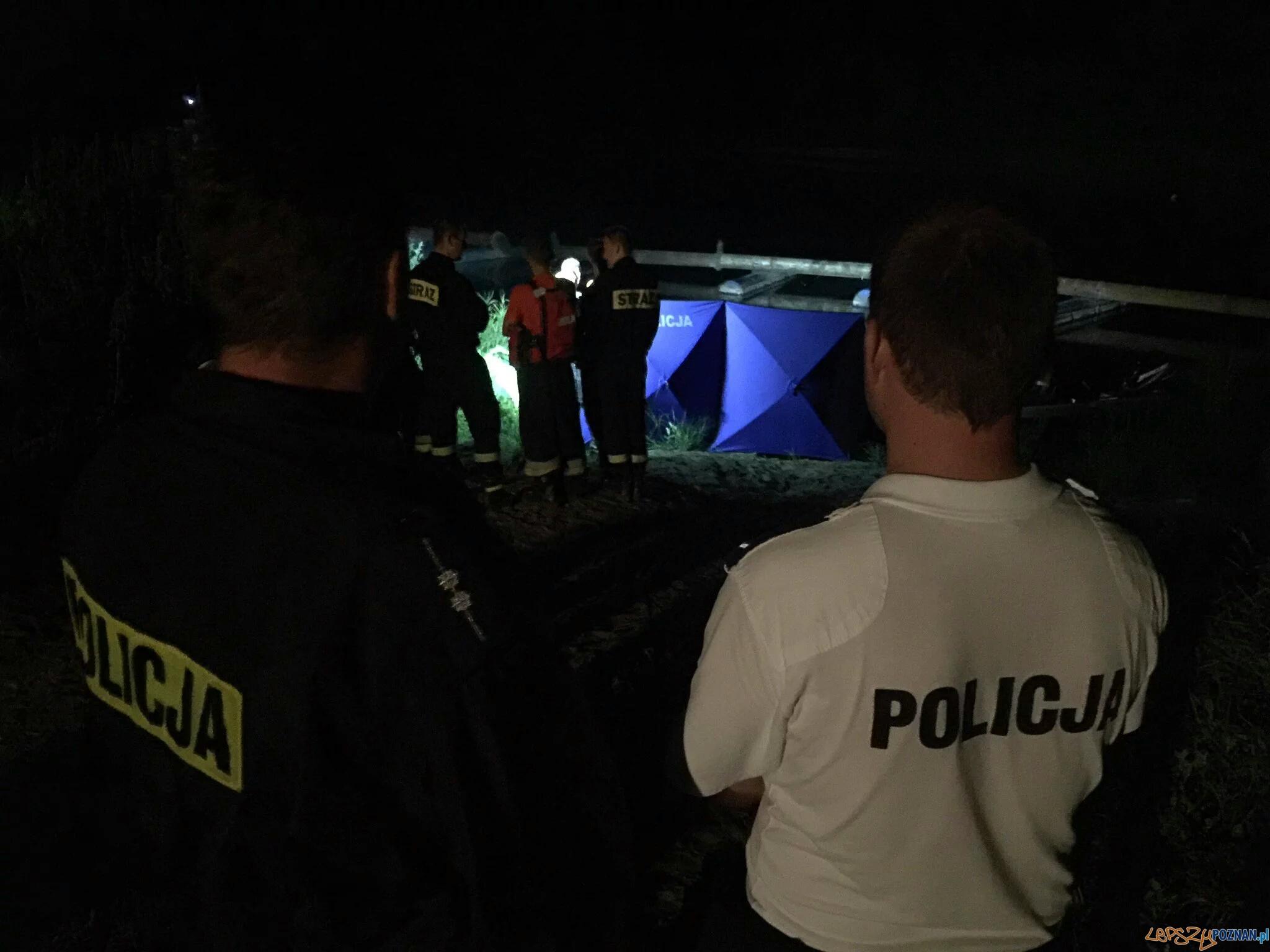 Z warty wyłowiono ciało kobiety - wiele wskazuje, że to Ewa Tylman  Foto: KMP Poznań