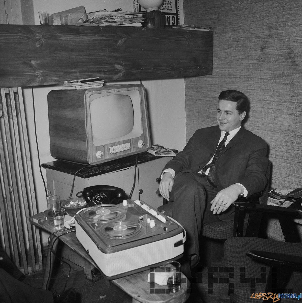 Stanisław Nowotny zastępca kierownika Klubu OdNowa 1965 - 68  Foto: Jerzy Nowakowski / Cyryl
