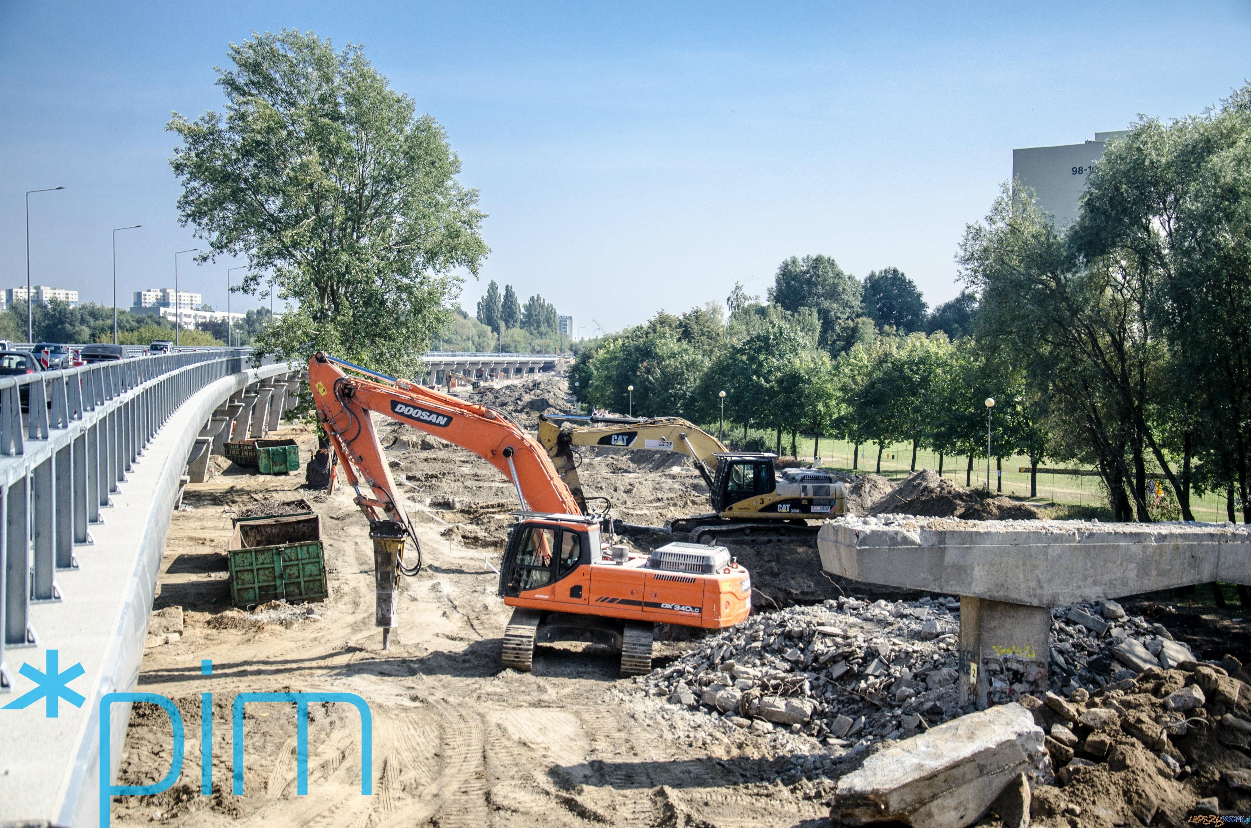 Przebudowa wiaduktu na ul.Krzywoustego  Foto: PIM / Krzysztof Kaczanowski
