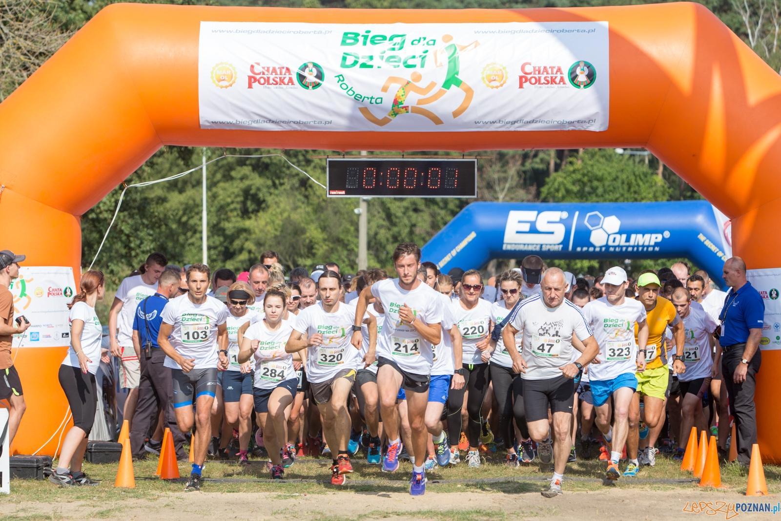 Bieg dla dzieci Roberta  Foto: lepszyPOZNAN.pl / Piotr Rychter