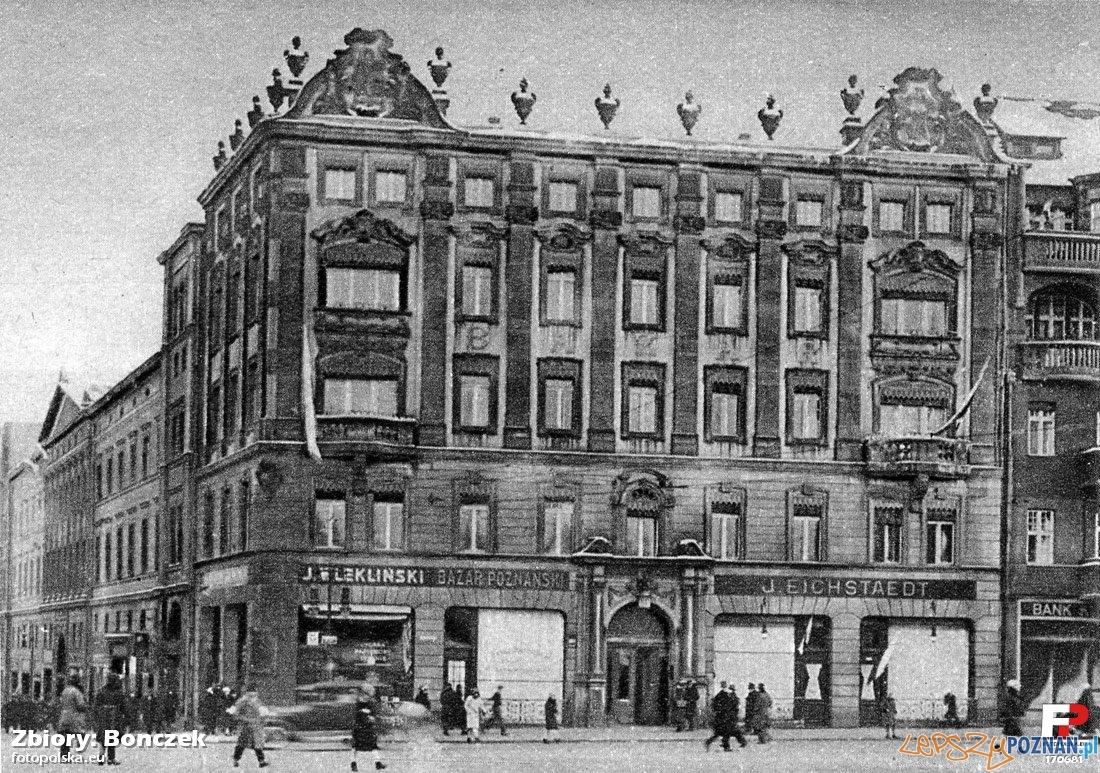 Hotel Bazar w roku 1928  Foto: