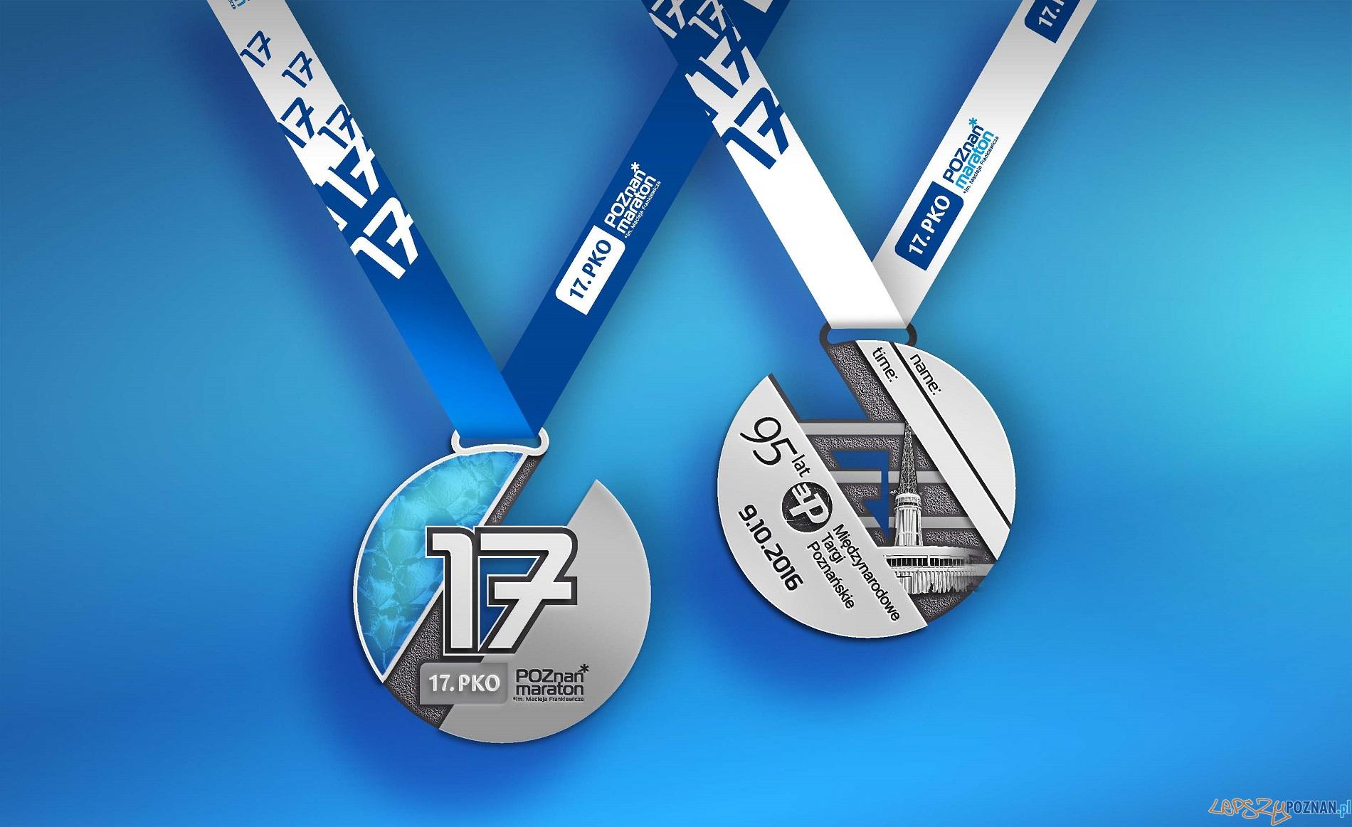 17. PKO Poznań Maraton - medal  Foto: materiały prasowe