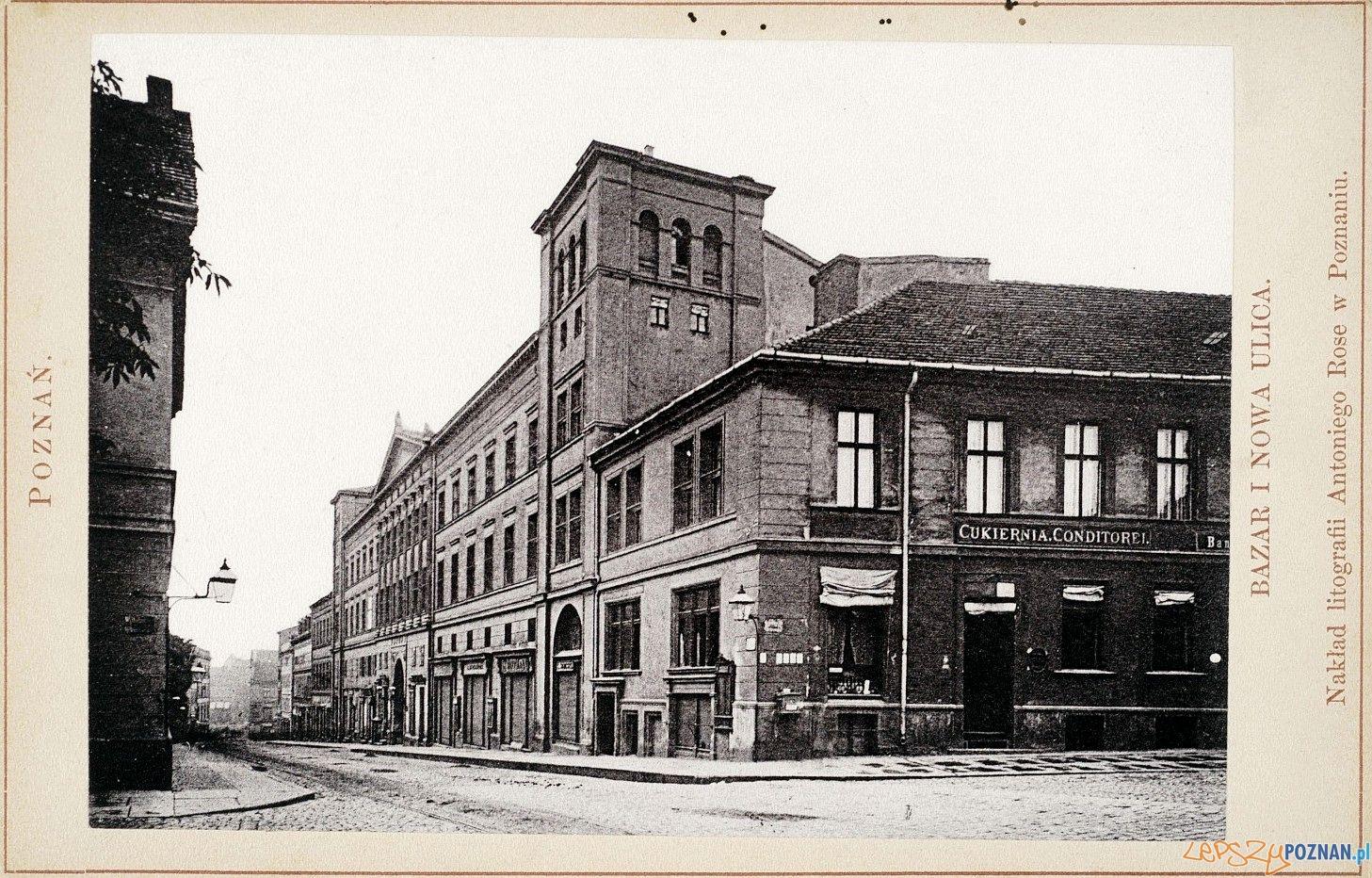 Bazar 1884  Foto: Zbiory Biblioteki Raczyńskich