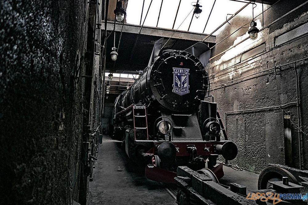Lokomotywa Lecha w zakładach Cegielskiego  Foto: materiały prasowe