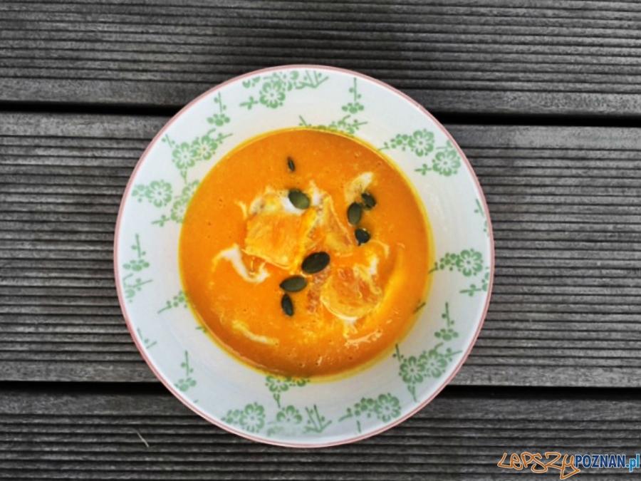 kokosowo dyniowa zupa krem  Foto: chilifiga.pl