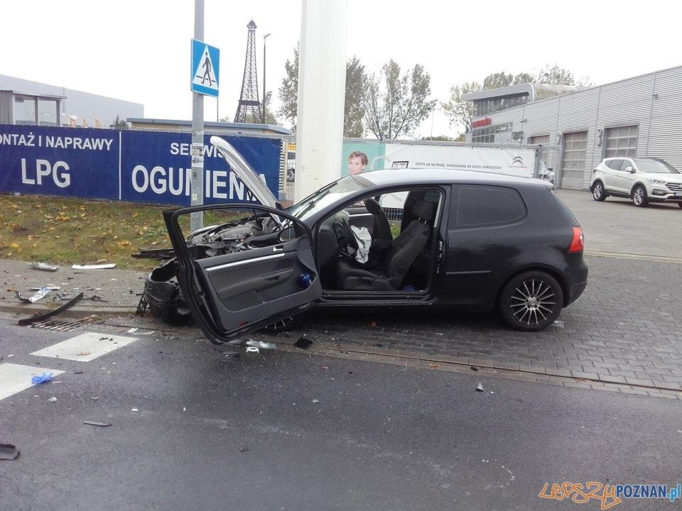 Wypadek w Swarzędzu - są ranni  Foto: Pomoc Drogowa EuroHol