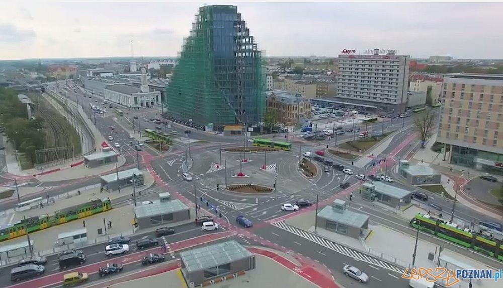Kaponiera z lotu drona  Foto: PIM / kadr z wideo