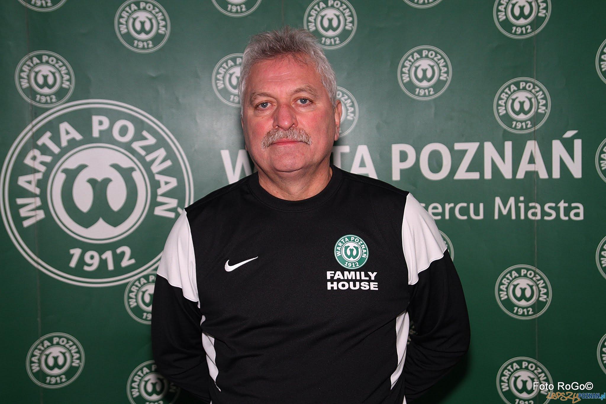 Petr Nêmec - nowy trener Warty  Foto: materiały prasowe