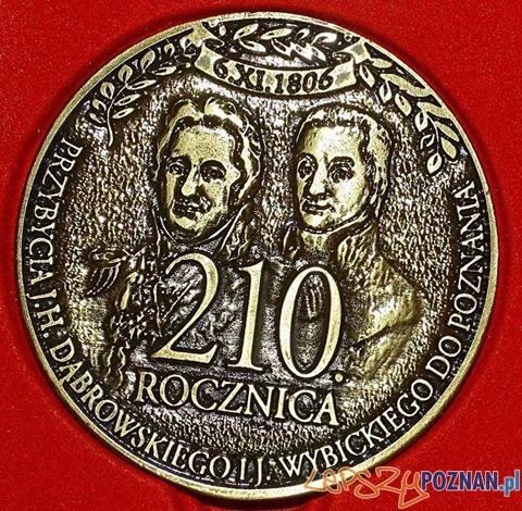 Pamiątkowy medal Powstania 1806  Foto: PTPN