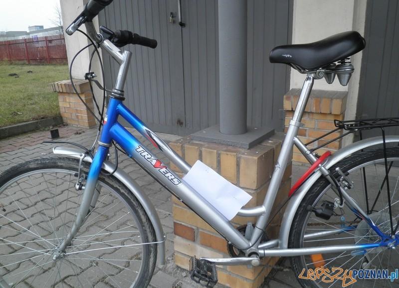 Komu zginął ten rower?  Foto: KMP Poznań