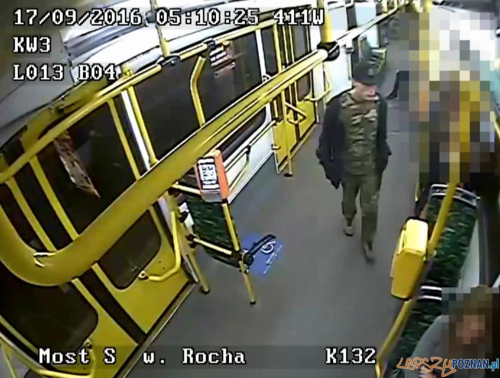 Pobicie i kradzież - są zdjęcia, nie wiadomo kim są sprawcy  Foto: monitoring