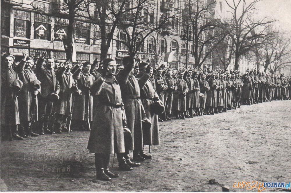 Zaprzysiężenie Wojsk Wielkopolskich 26 stycznia1919  Foto: K. Greger / UMP