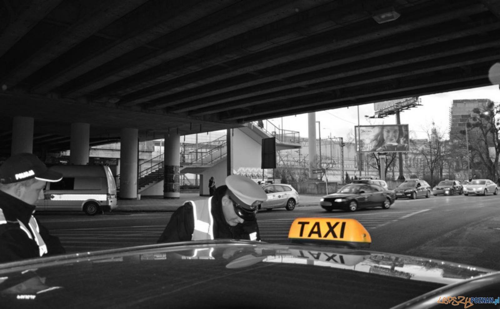 Taksówki bez ubezpieczenia i badań technicznych  Foto: KMP w Poznaniu