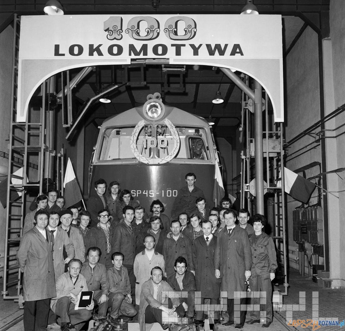 100 lokomotywa spalinowa wyprodukowana w Zakładach Cegielskiego  Foto: Stanisław Wiktor / Cyryl