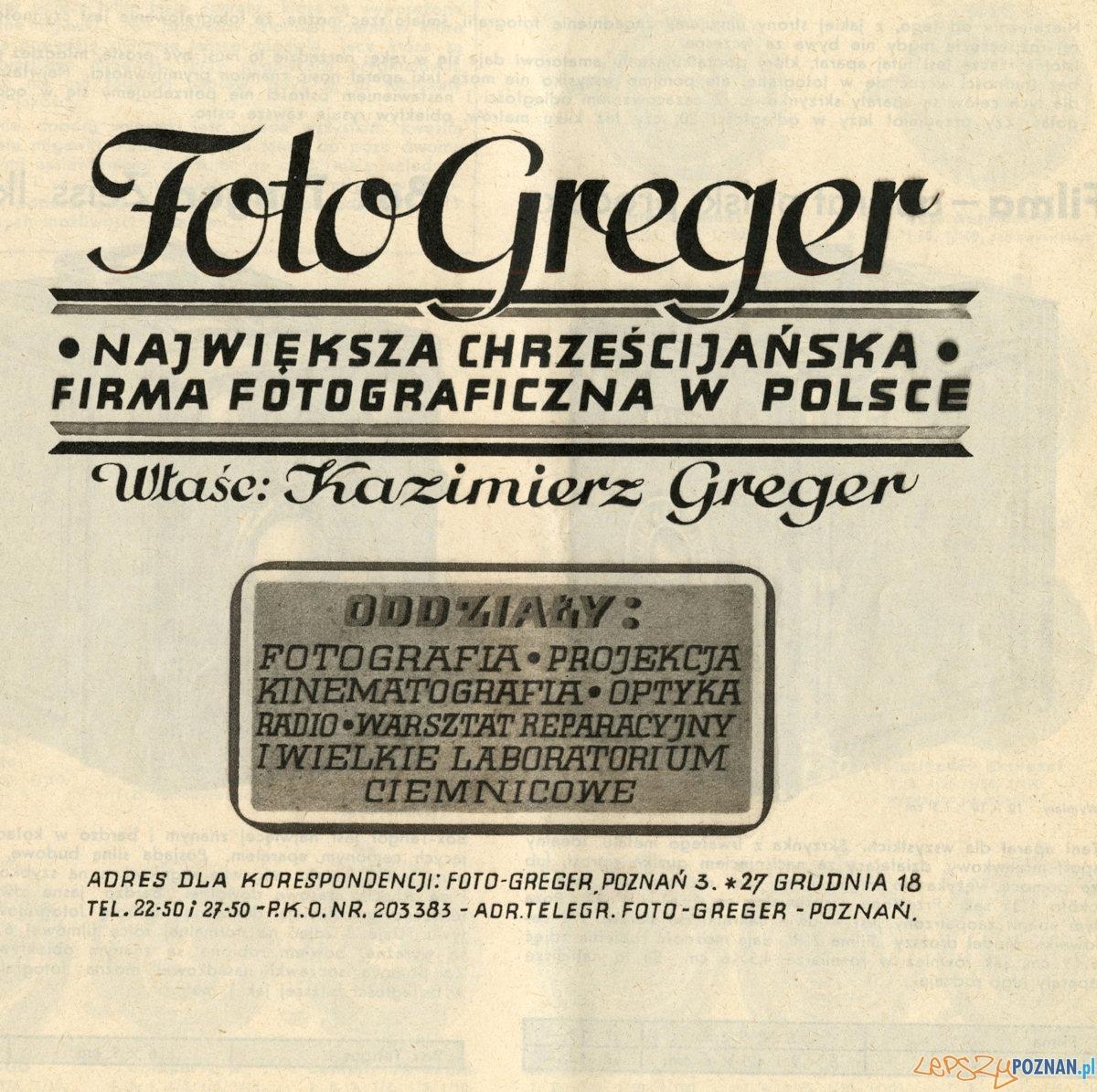 Katalog produktów Foto Greger  Foto: Piotr Gawron / optyczne.pl
