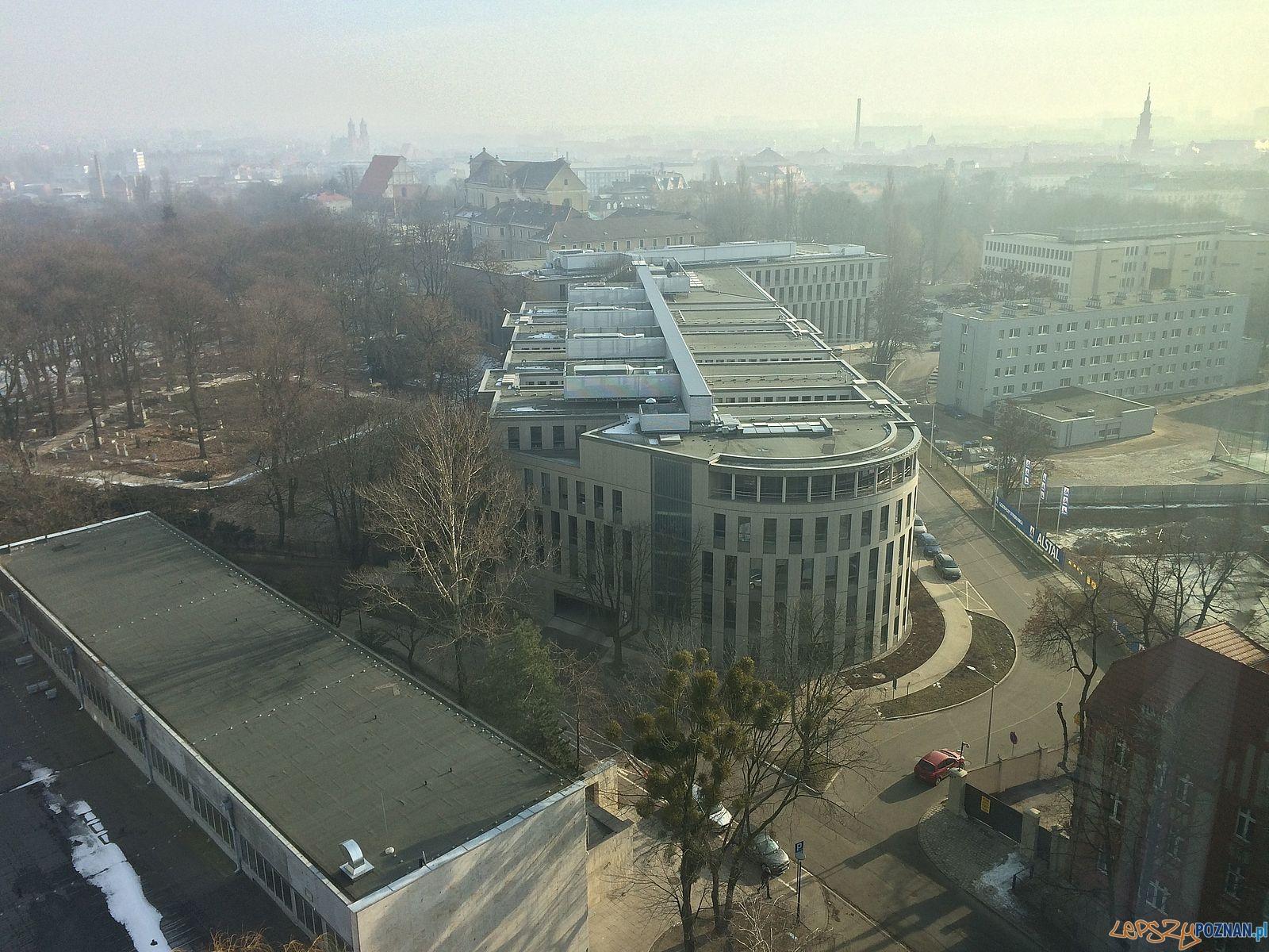 tzw dzielnica sądowa - widok z UMWW  Foto: Rada Osiedla Stare Miasto