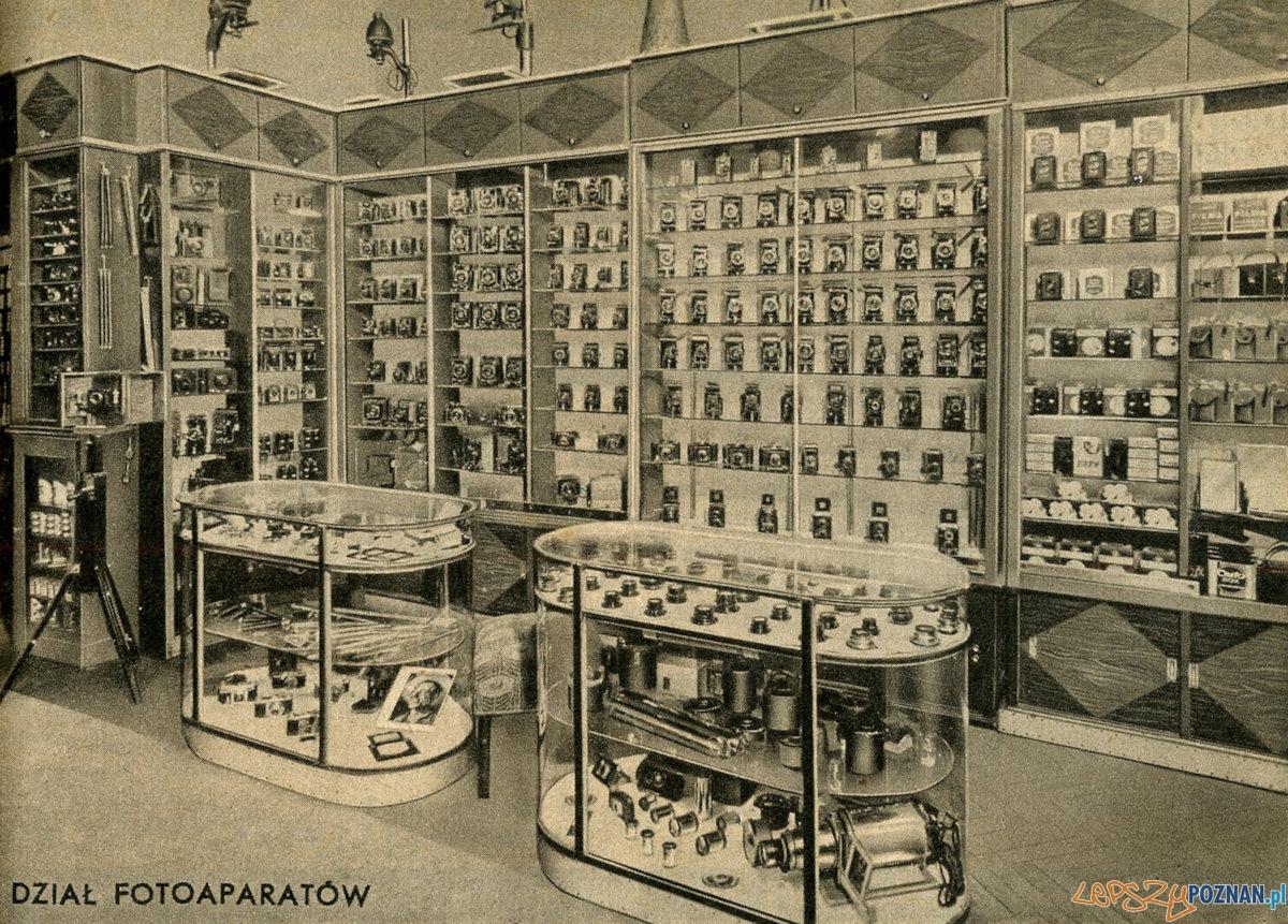 Foto Greger - sklep 1938 r.  Foto: Piotr Gawron / optyczne.pl