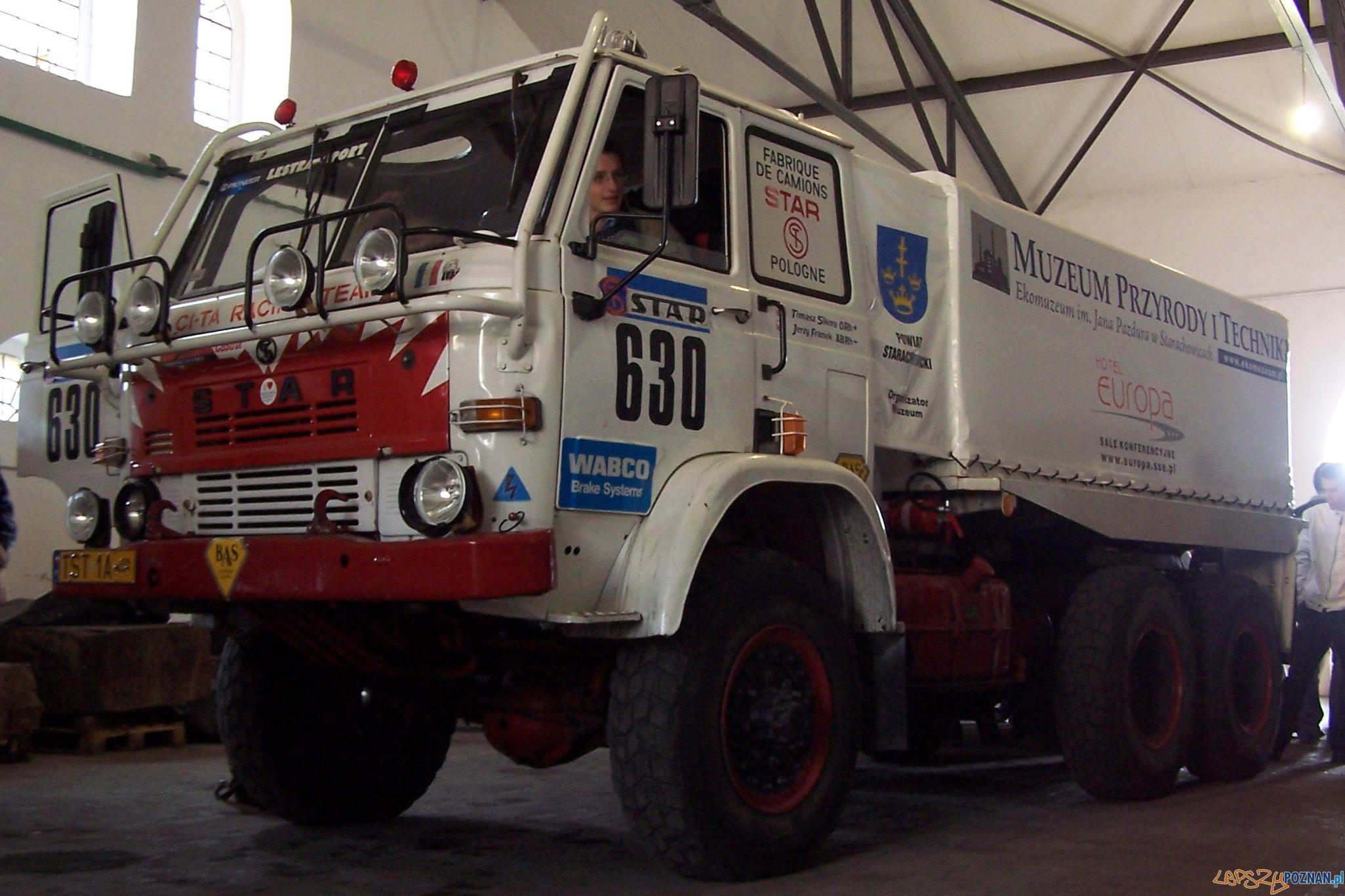 Star 266 - pojazd  biorący udział w rajdzie Paryż Dakar  Foto: Królik / wikipedia