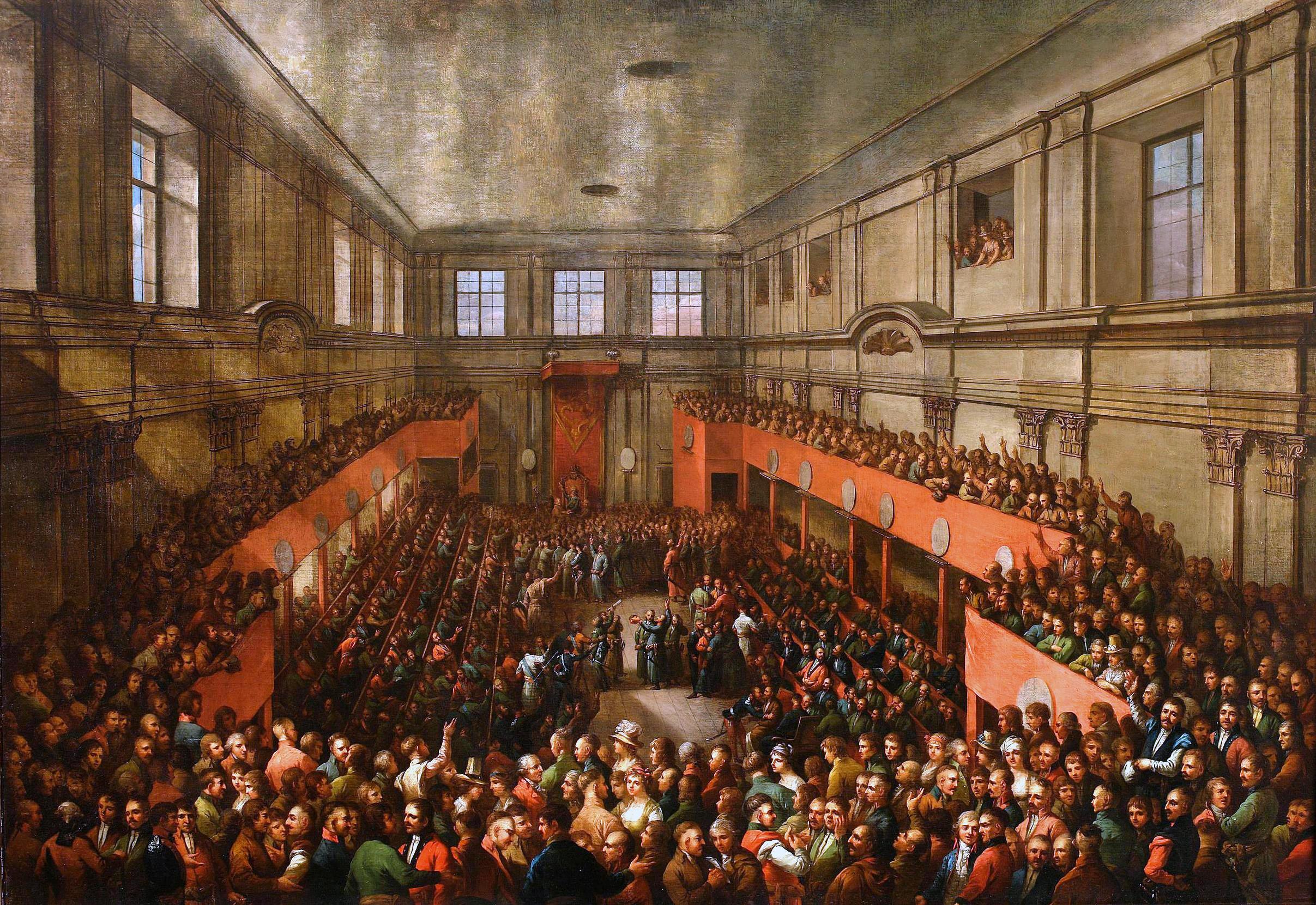 adoption_of_the_constitution_on_may_3_1791_by_kazimierz_wojniakowski_1806  Foto: http://cyfrowe.mnw.art.pl/dmuseion/docmetadata?id=5327