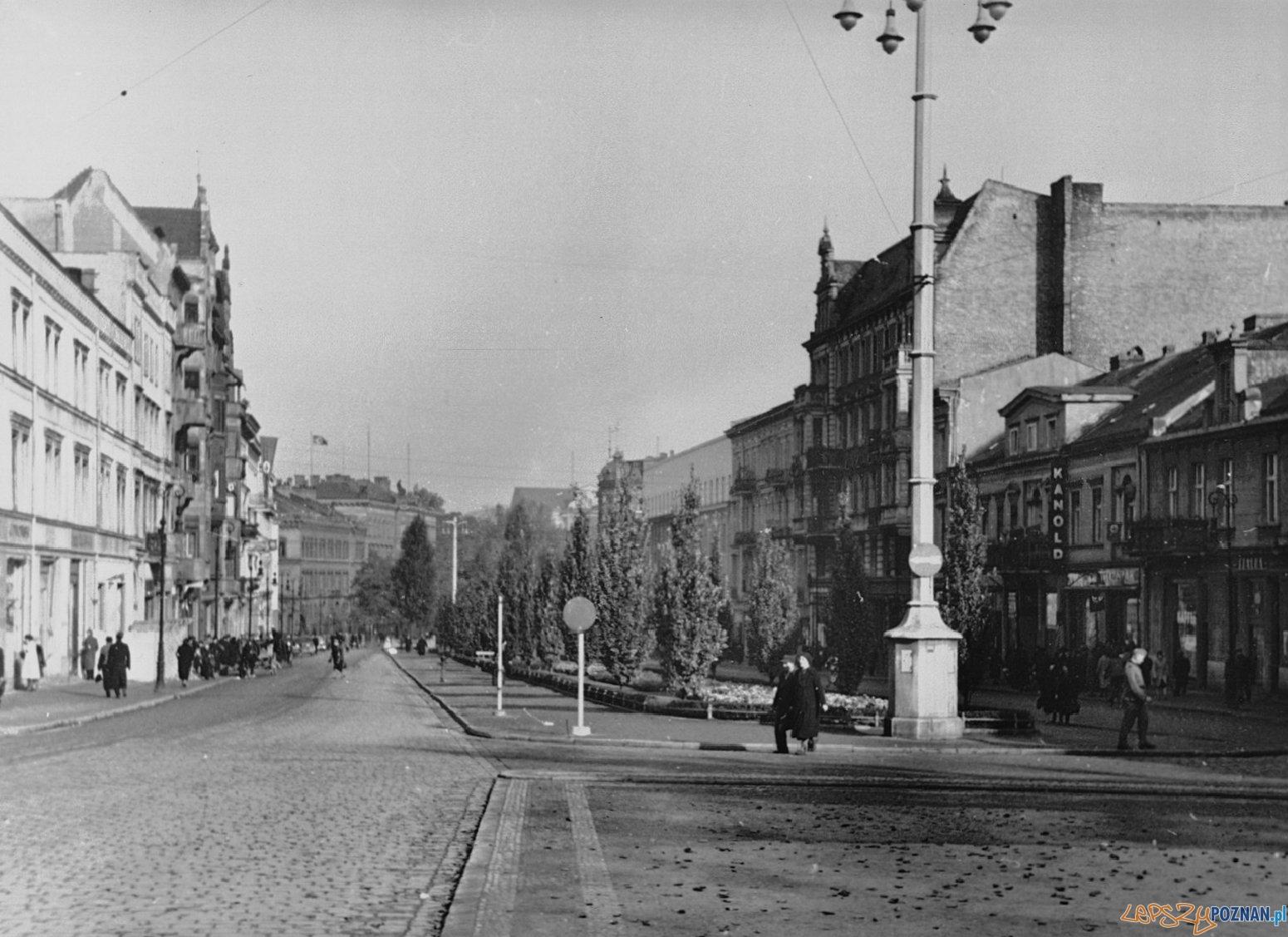 Aleje Marcinkowskiego 1939  Foto: Fotopolska