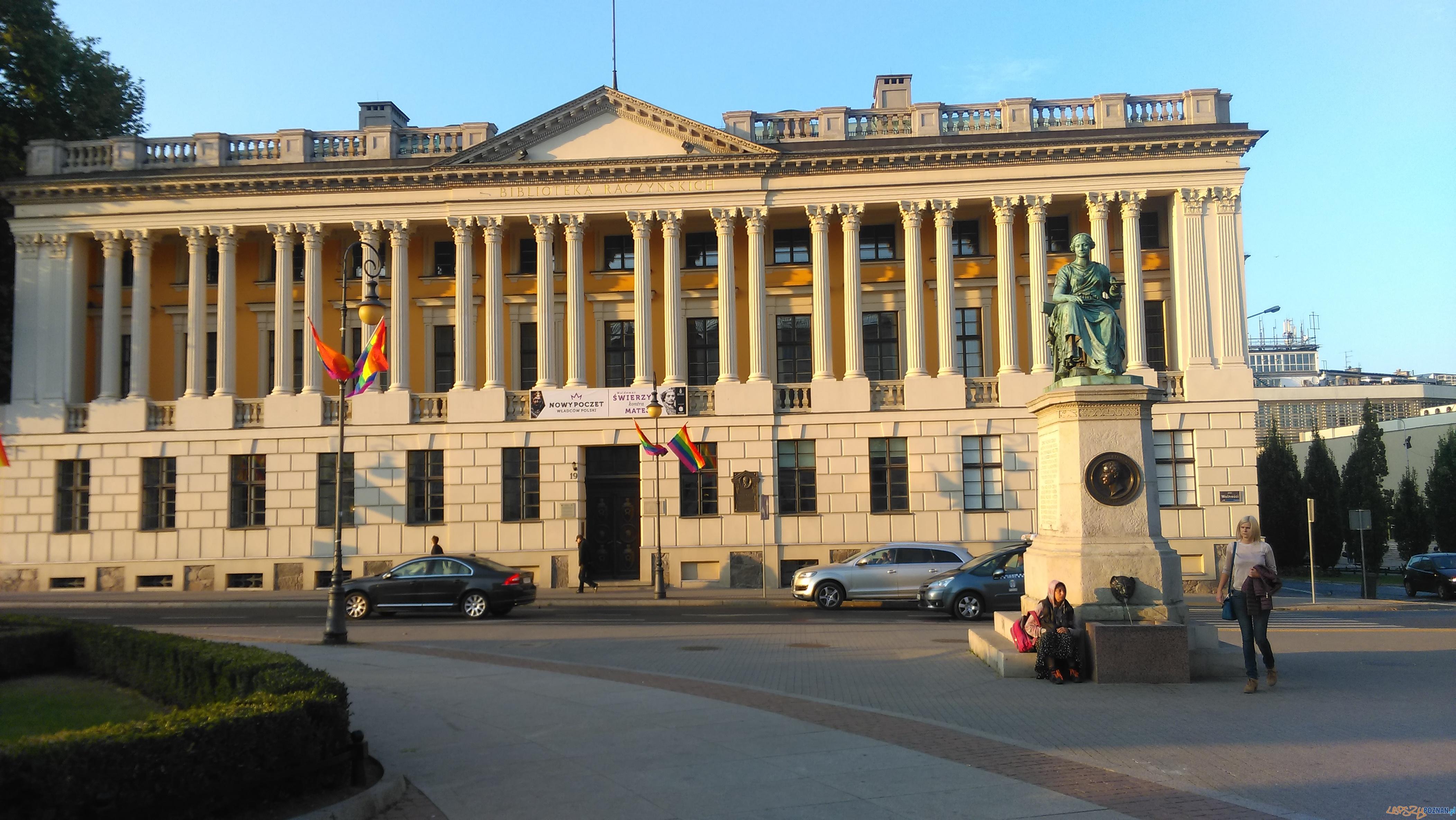 Biblioteka Raczyńskich  Foto: TD