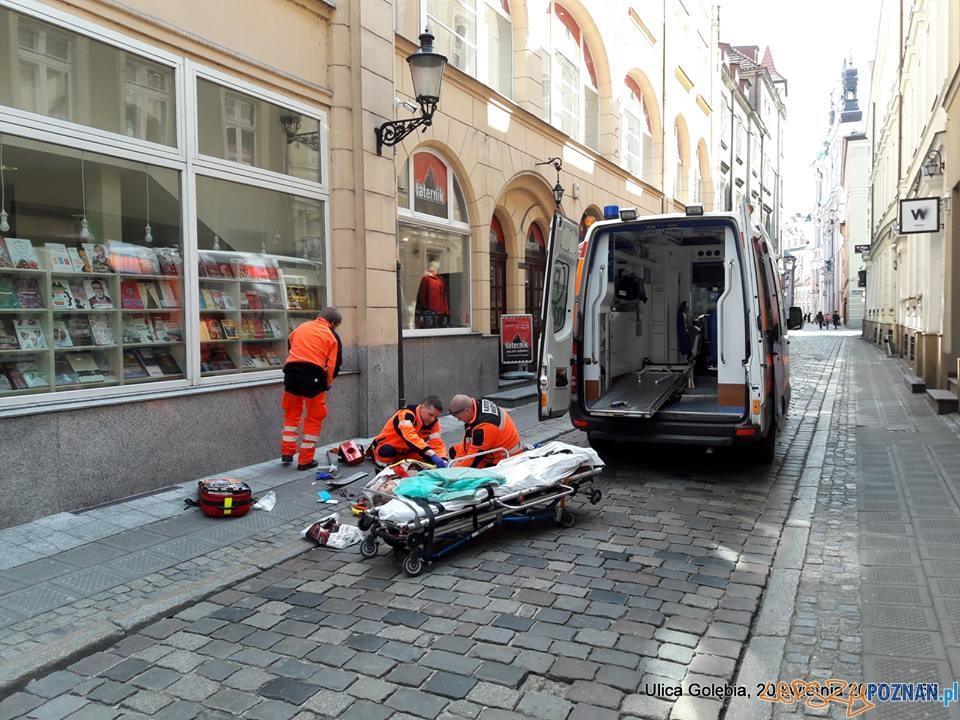 Potrącenie na Gołębiej  Foto: Stowarzyszenie Ulica Wrocławska