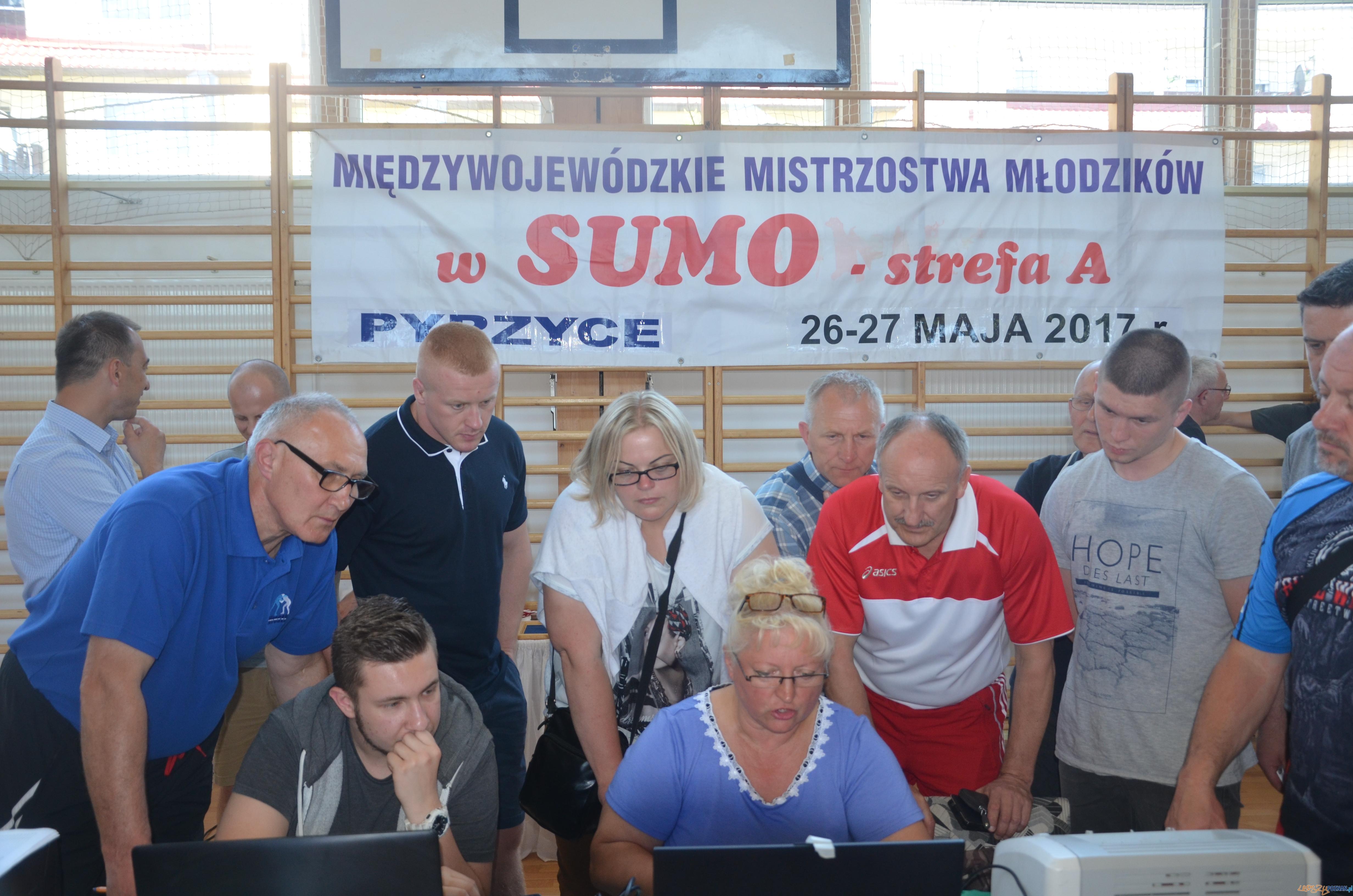 Międzywojewódzkie Mistrzostwa Młodzików w Sumo Perzyce  Foto: KS Sobieski