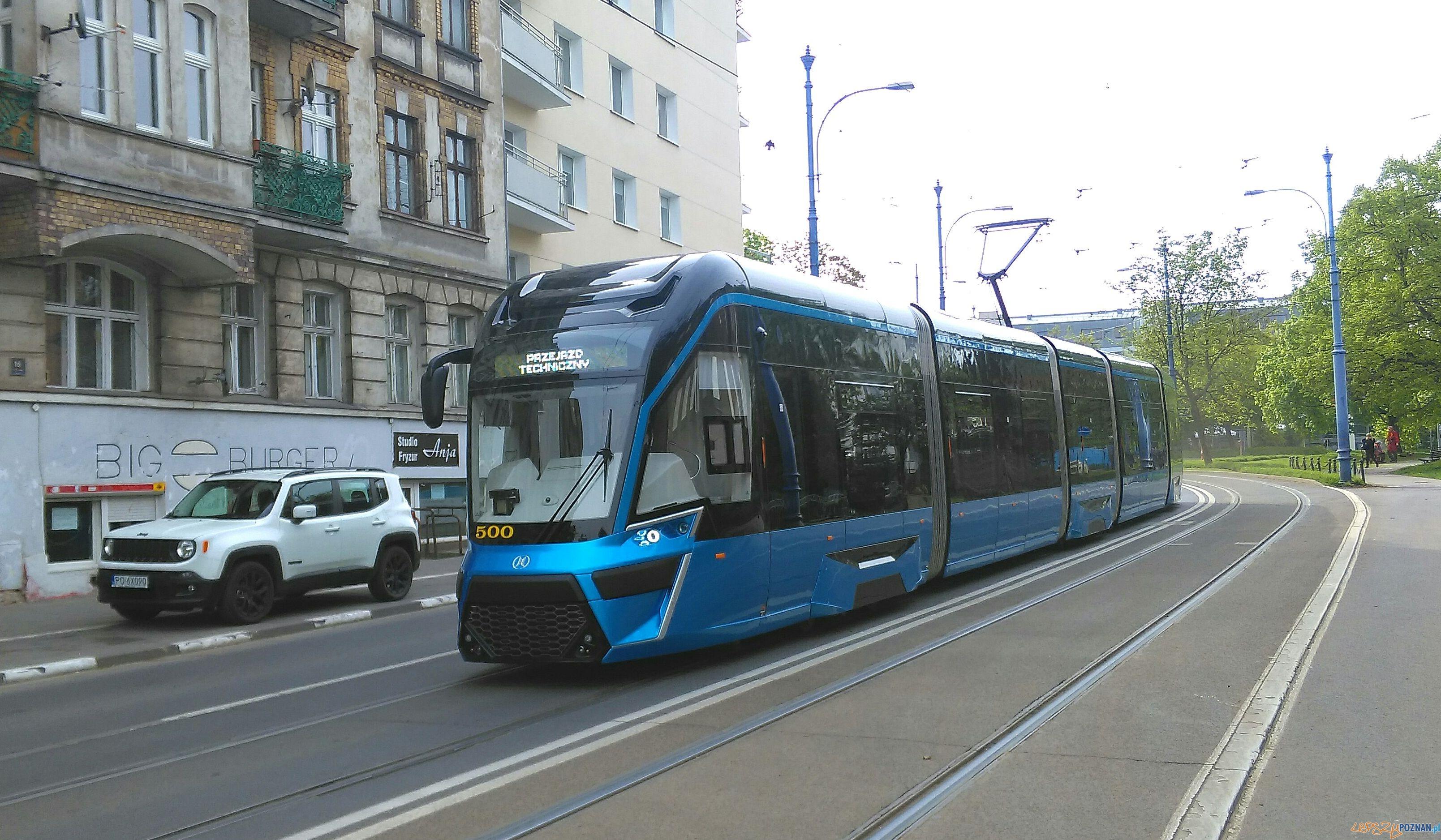 Nowy Tramwaj - Moderus Gamma  Foto: Tomasz Dworek