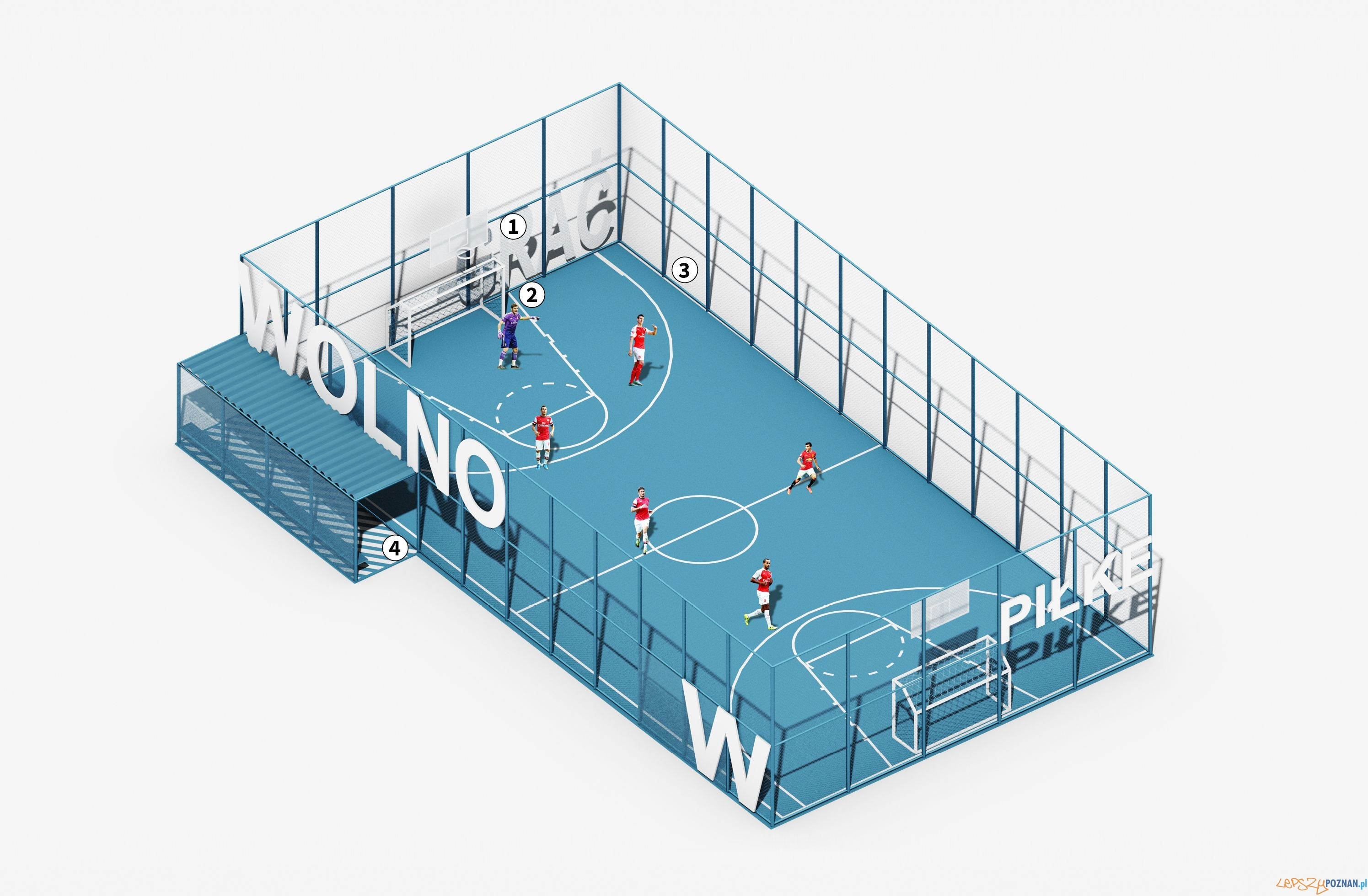 Tu WOLNO - nowy Ogrod Jordanowski - mat. UGO Architecture (7)  Foto: