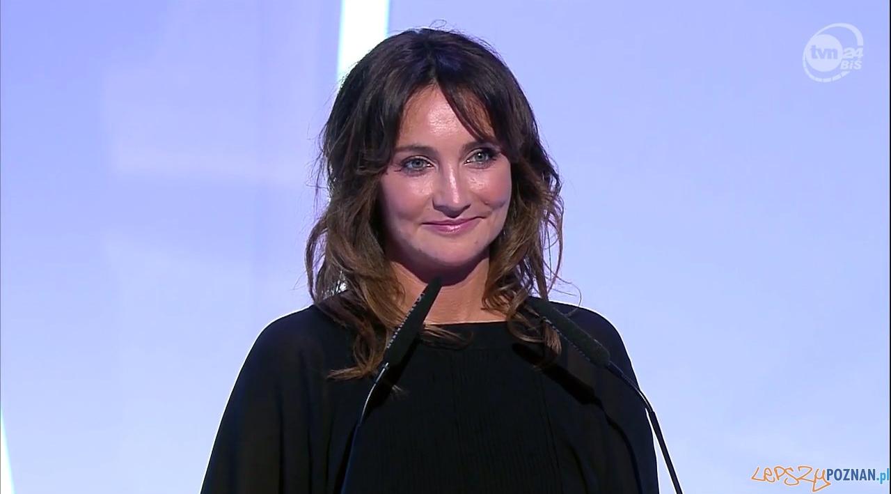 Dominika Kulczyk podczas Gali 25-lecie Polskiej Rady Biznesu  Foto: TVN24BiŚ